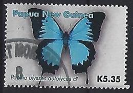 Papau New Guinea  2006  K5.35 Butterflies (o) - Papua New Guinea