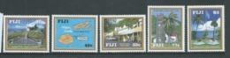 Fiji 1992 Historic Levuka Set 5 MNH - Fiji (1970-...)
