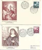 Sobres Conmemorativos XXXV Congreso Eucarística Internacional Barcelona, 1952 - España