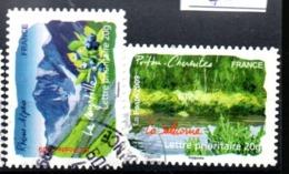 FRANCE  OB CACHET ROND YT N° 313/308 - France