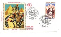 FDC 1972 NAPOLEON BONAPARTE EXPEDITION D'EGYPTE - 1970-1979