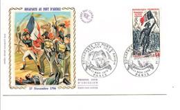 FDC 1972 NAPOLEON BONAPARTE AU PONT D'ARCOLE - 1970-1979