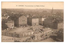 LIMOGES.VUE PANORAMIQUE VERS L'EGLISE SAINT-PIERRE - Limoges