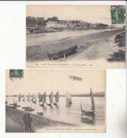 CPA France 80 - Saint Valery Sur Somme  - 2 Cartes   - Achat Immédiat - (cd008) - Saint Valery Sur Somme