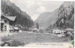 CHATELARD --Frontiere Et La Gare - VS Valais