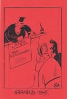 AK- Gruss Vom Krampus - 1945 - Urteil Wegen Schleichhandel - Holidays & Celebrations