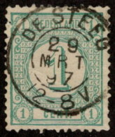 "NTH SC #35 U 1894 Numeral Of Value W/SON ""DE STEEG/29 MRT 97/12-8V"" W/flts CV $0.25 - Periodo 1891 – 1948 (Wilhelmina)"