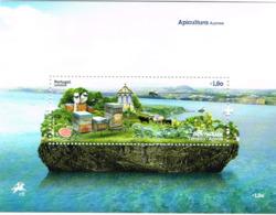 Açores. Bloc Apiculture Abeilles Ruches - Api