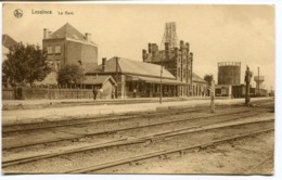 CPA - Carte Postale - Belgique - Lessines - La Gare - 1937 (I10554) - Lessines