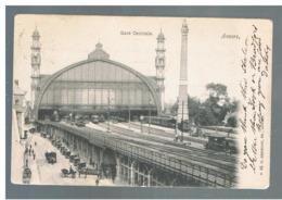 JM24.11 / CPA /   ANVERS - LA GARE CENTRALE - Antwerpen