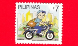 FILIPPINE - Usato - 2010 - Pheepoy III, Moscotte Società Filippina Postale (Philpost) - 7 - Filippine