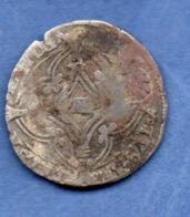 D  //  Europe -  Monnaie En Argent à Identifier --   1615 - Munten