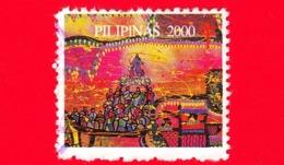 FILIPPINE - Usato - 2000 - Antitubercolosi ... - Filippine