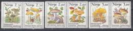 Norwegen 1987-89 - Freimarken: Pilze, MNH** - Norwegen