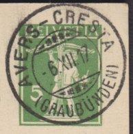 GR     AVERS - CRESTA - Briefe U. Dokumente