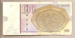 Macedonia - Banconota Circolata Da 100 Denari P-16b - 1997 #18 - Macedonia