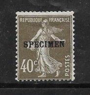 France Timbres Des Cours D'instruction N°193 C1 1 Neuf Petite Charnière - Cours D'Instruction