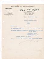 16-J.Frugier.. Eaux-de-Vie Des Deux Charentes ..Cognac (Charente) 1941 - France