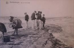 Blankenberge - Blankenberghe // Sur Un Brise Lames (hengelsport) 19?? - Blankenberge