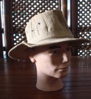 Chapeau De Brousse  - Indochine - Indo. - Casques & Coiffures