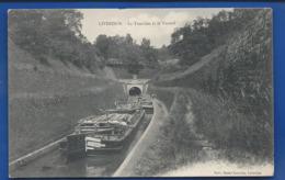LIVERDUN    La Tranchée Et Le Tunnel   Pèniche     écrite En 1906 - Liverdun