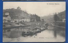 LIVERDUN   Pont Sur Le Canal   Pèniche - Liverdun