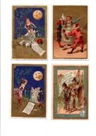 11 CARTES PUBLICITAIRES POUR LE BON MARCHE A PARIS - Werbepostkarten