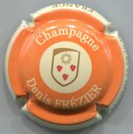 CAPSULE-CHAMPAGNE FREZIER Denis N°03 Orange & Crème - Champagne