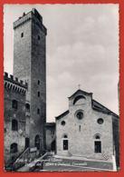 Citta Di S.GIMIGNANO- Siena- Piazza Del Duomo E Palazzo Communale- Scans Recto Verso-Paypal Free - Siena