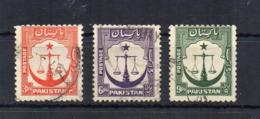 PAKISTAN - 1948 - 3 Valori - Usati - (FDC18534) - Pakistan