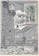 Carte  Maximum  1er  Jour  ANDORRE    700éme  Anniversaire  De  La  Co - Principauté     1979 - Maximumkarten (MC)