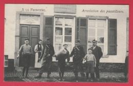 Condé-sur-l'Escaut ??? - A La Frontière ... Bureau Des Douanes - Arrestation Des Pacotilleurs - 1907 ( Voir Verso ) - Conde Sur Escaut