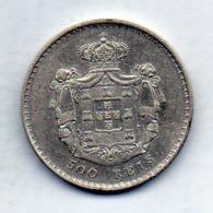 PORTUGAL, 500 Reis, Silver, Year 1846, KM #471 - Portugal
