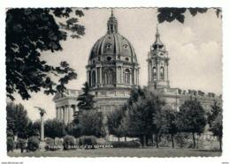 TORINO:  BASILICA  DI  SUPERGA  -  PER  LA   SVIZZERA  -  FG - Churches