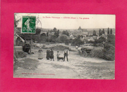 61 Orne, CETON, Vue Générale, Animée, Ferme, Le Perche Pittoresque, (J. Renoult), Coupure En Haut - Autres Communes