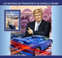 CHAD - 2017 - Trump's Transport - Perf Souv Sheet - M N H - Tsjaad (1960-...)