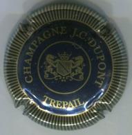 CAPSULE-CHAMPAGNE DUPONT J.C. N°05 Bleu Noir & Or Striée - Altri