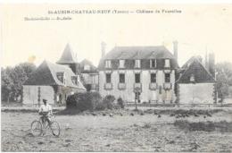 SAINT AUBIN CHATEAU NEUF: CHATEAU DE FOUROLLES - France
