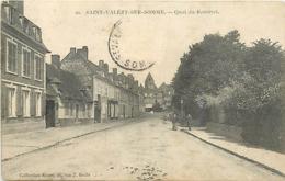80 SAINT VALERY SUR SOMME -QUAI DU ROMEREL - Saint Valery Sur Somme