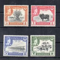 PAKISTAN - BAHAWALPUR - 1949 - Giubileo D'Argento - 4 Valori - Nuovi - Linguellati * - (FDC18538) - Pakistan