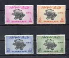 PAKISTAN - BAHAWALPUR - 1949 - 75° Anniversario U.P.U. - 4 Valori - Nuovi - Linguellati * - (FDC18539) - Pakistan