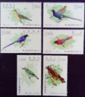 Formose Taiwan 1967 Animal Oiseaux Birds Yvert 580-585 ** MNH - 1945-... Republiek China