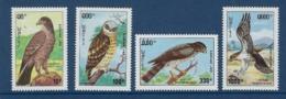 """Laos YT 1098 à 1101 """" Rapaces """" 1993 Neuf** - Laos"""