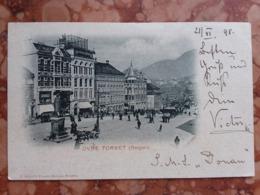 Norvegia - Cartolina Spedita Dalla Norvegia A Vienna Nel 1898 Con Annullo Arrivo + Spese Postali - Norwegen
