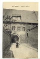 Carte Postale Ancienne Montdidier - Palais De Justice - Tribunal - Montdidier