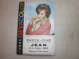 Ancienne Pochette Photos PHOTO-CINE JEAN      ARRAS - France