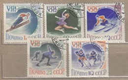 RUSSIA 1960 Winter Olympic Games Mi 2317-2321 Used (o) #24624 - Oblitérés