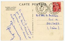 CHARENTE MARITIME CP 1951 EPARGNES RECETTE DISTRIBUTION - Marcophilie (Lettres)