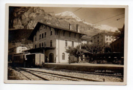 Loeche Les Bains Gare Train  -----  141 - VS Valais
