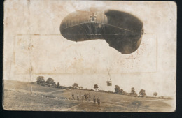 AK/CP Luftschiffer Feldluftschiffer  Ballon   Ungel/uncirc. 1914-18    Erhaltung/Cond. 3-    Nr. 00918 - Guerra 1914-18